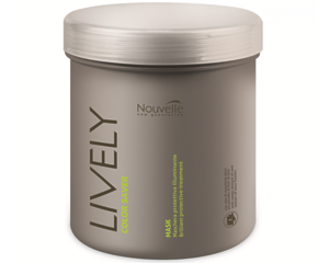 Маска для блеска волос защитная Nouvelle Lively Color Saver Mask 1000 мл